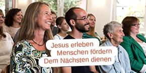 Alle Generationen verbindet eine Vision: Jesus erleben, Menschen fördern und dem Nächsten dienen.